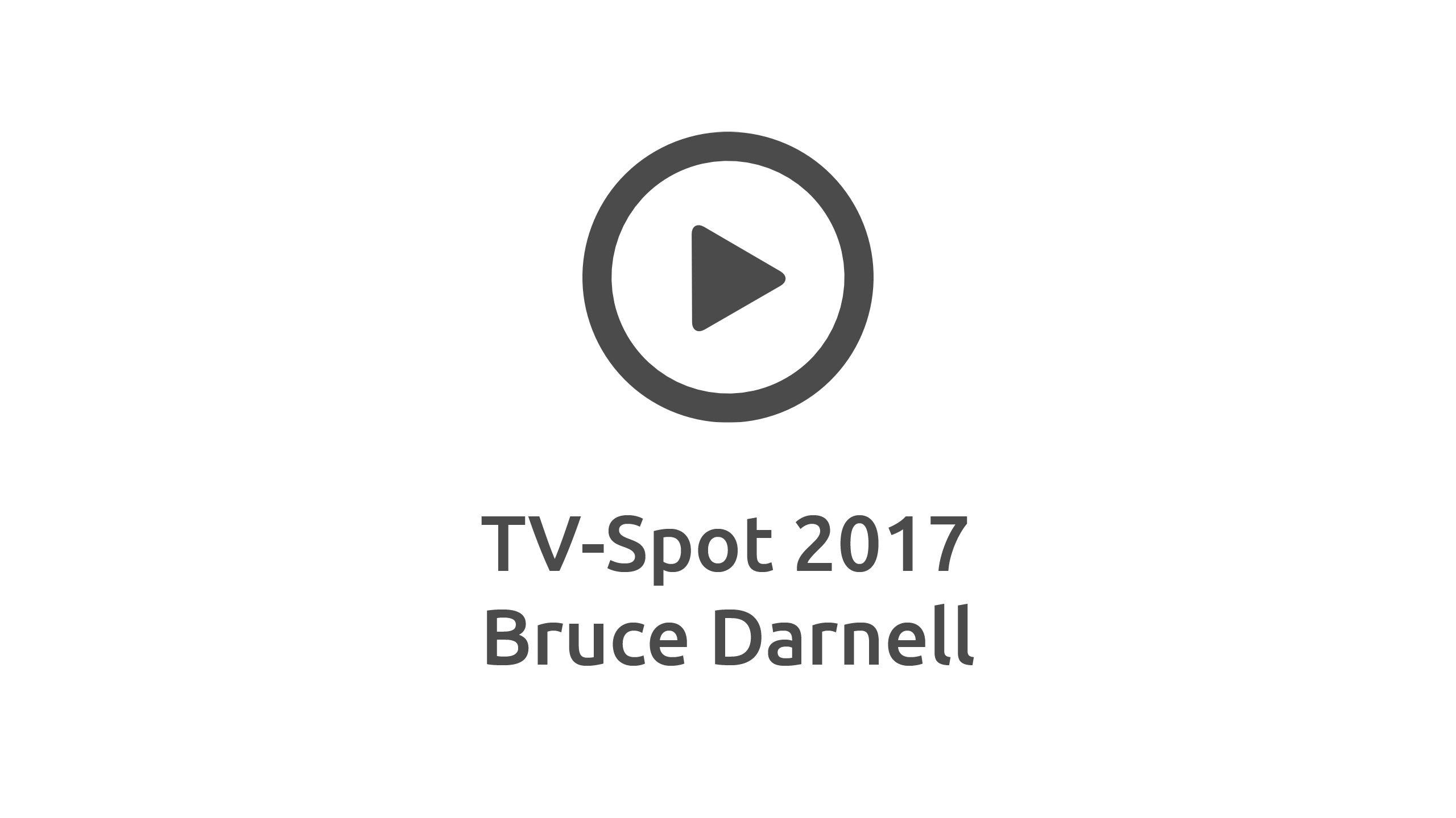 Bruce Darnell mit neuem TV-Spot