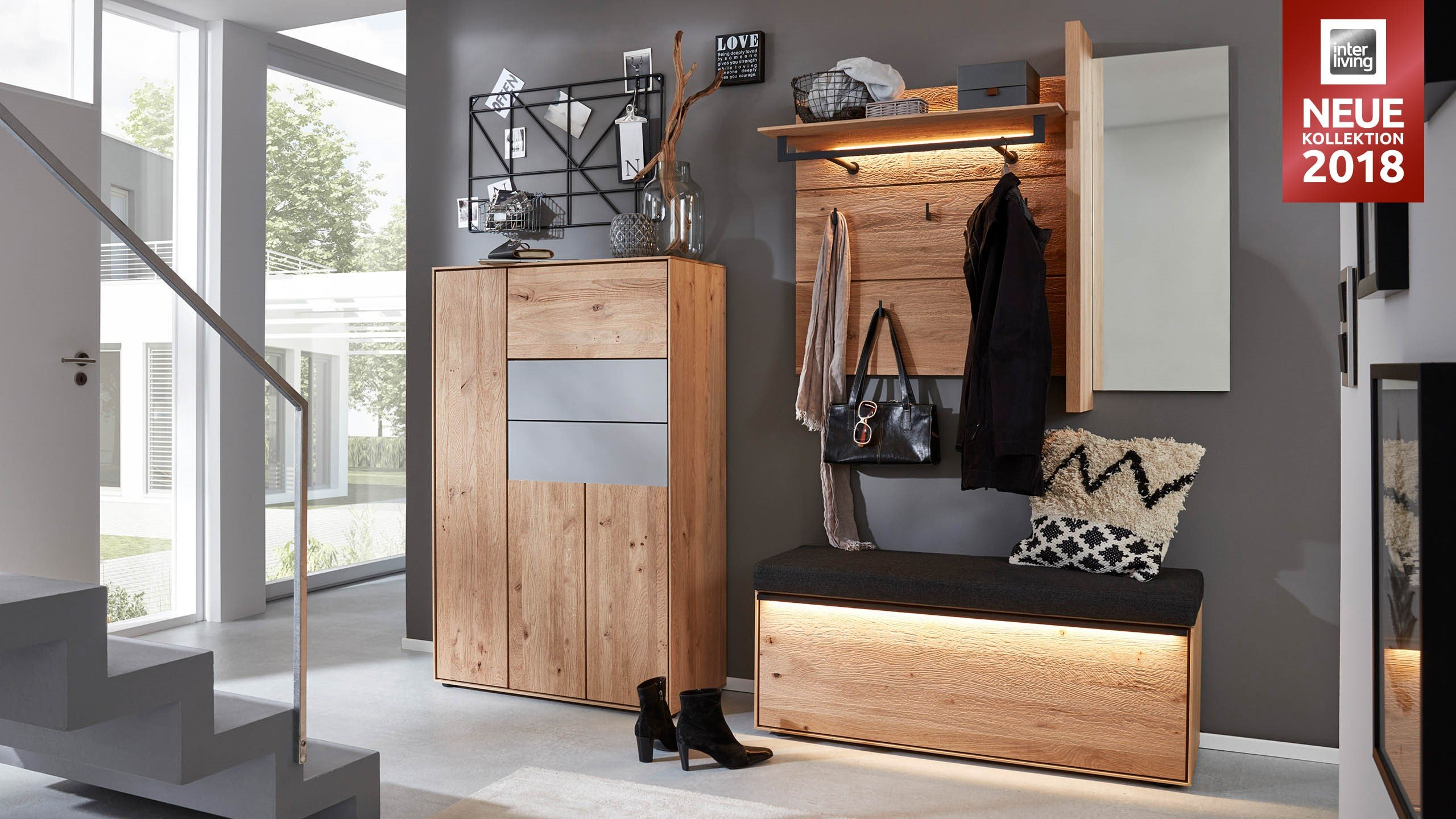 interliving garderoben serie 6004 interliving m bel f r mich gemacht. Black Bedroom Furniture Sets. Home Design Ideas