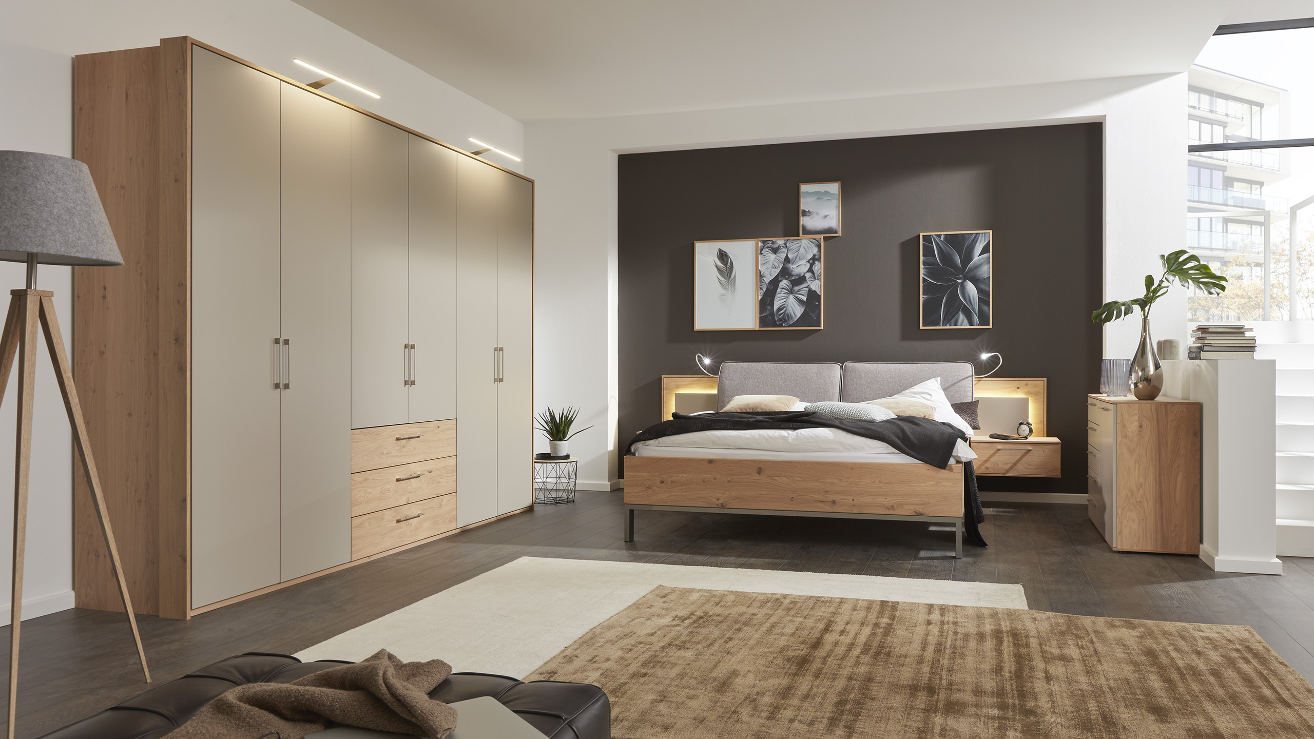 interliving boxspringbett serie 1405 interliving m bel f r mich gemacht. Black Bedroom Furniture Sets. Home Design Ideas