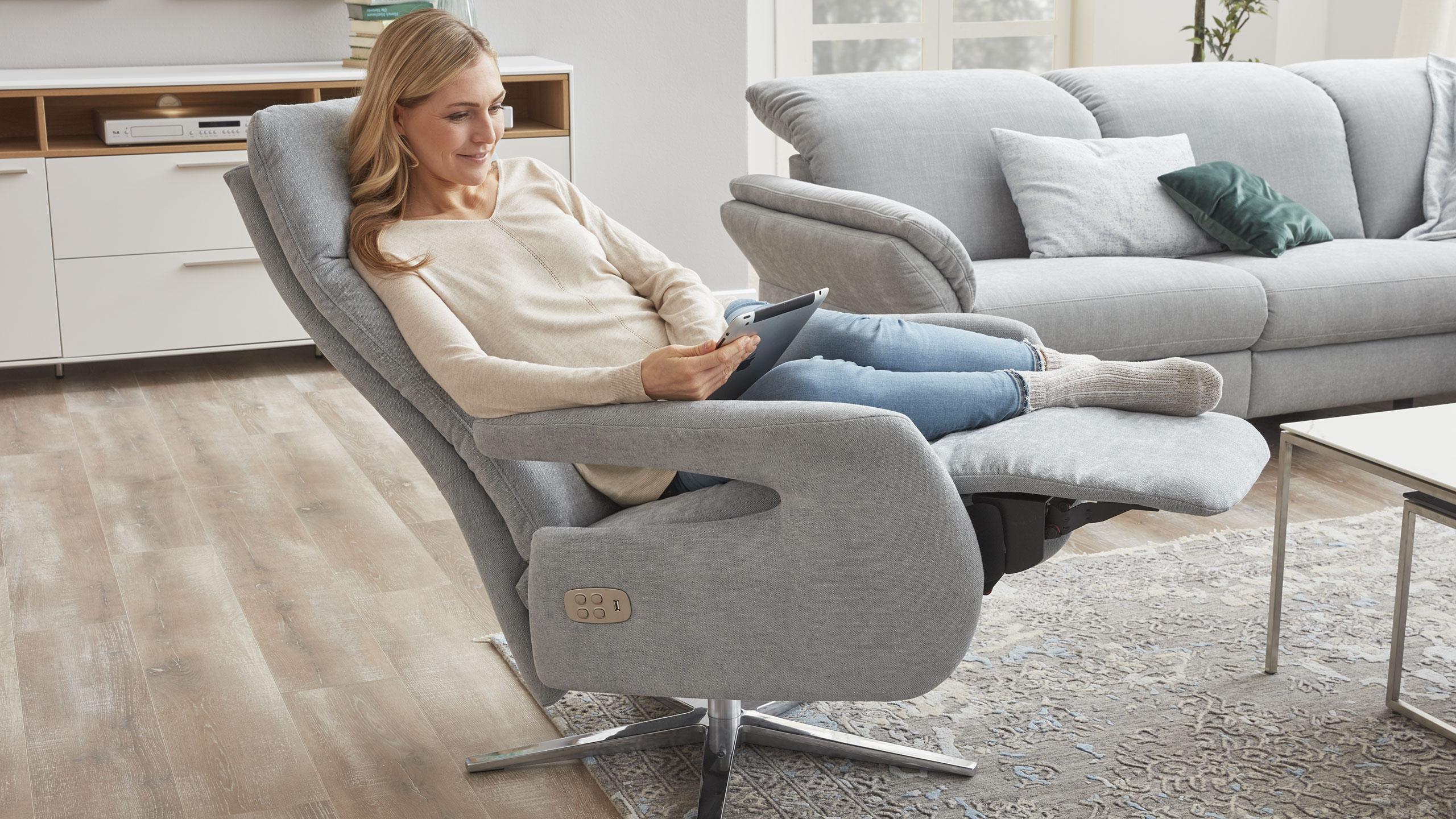 Ein Sessel Für Gemütliche Stunden