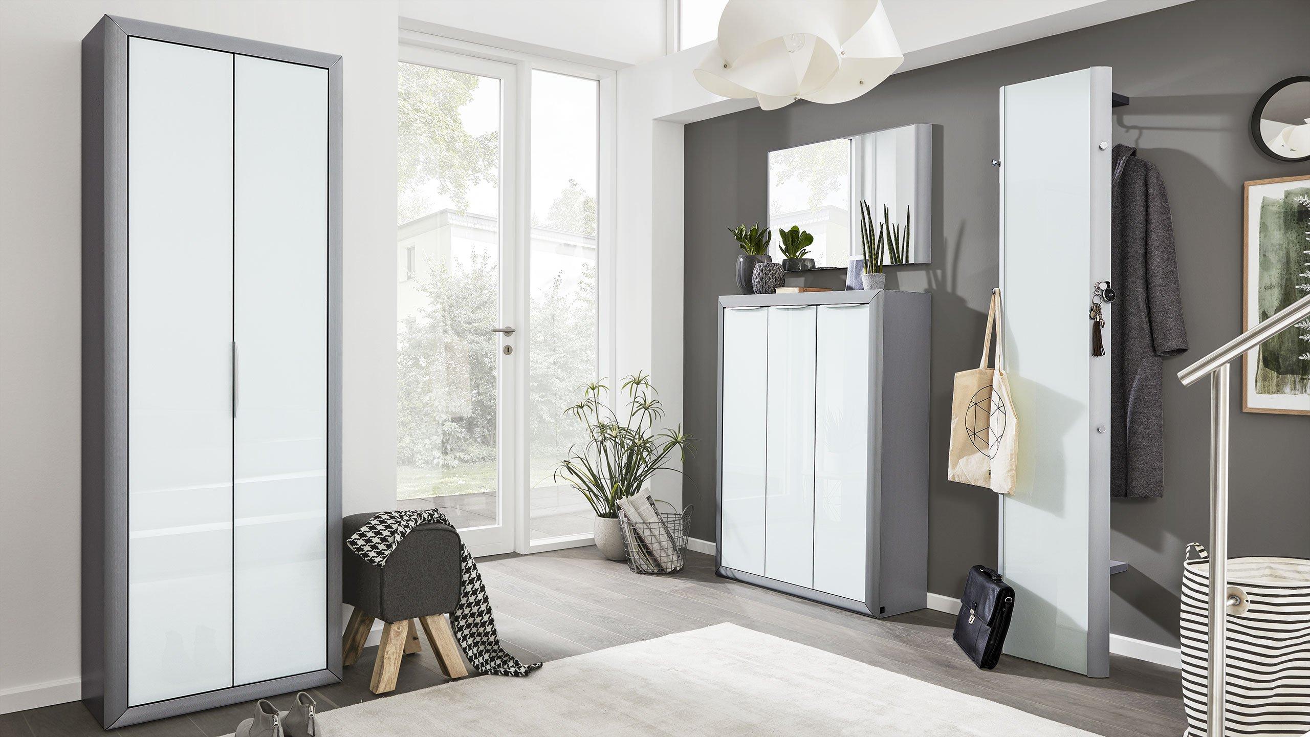 ideen f r einen sch nen flur interliving. Black Bedroom Furniture Sets. Home Design Ideas