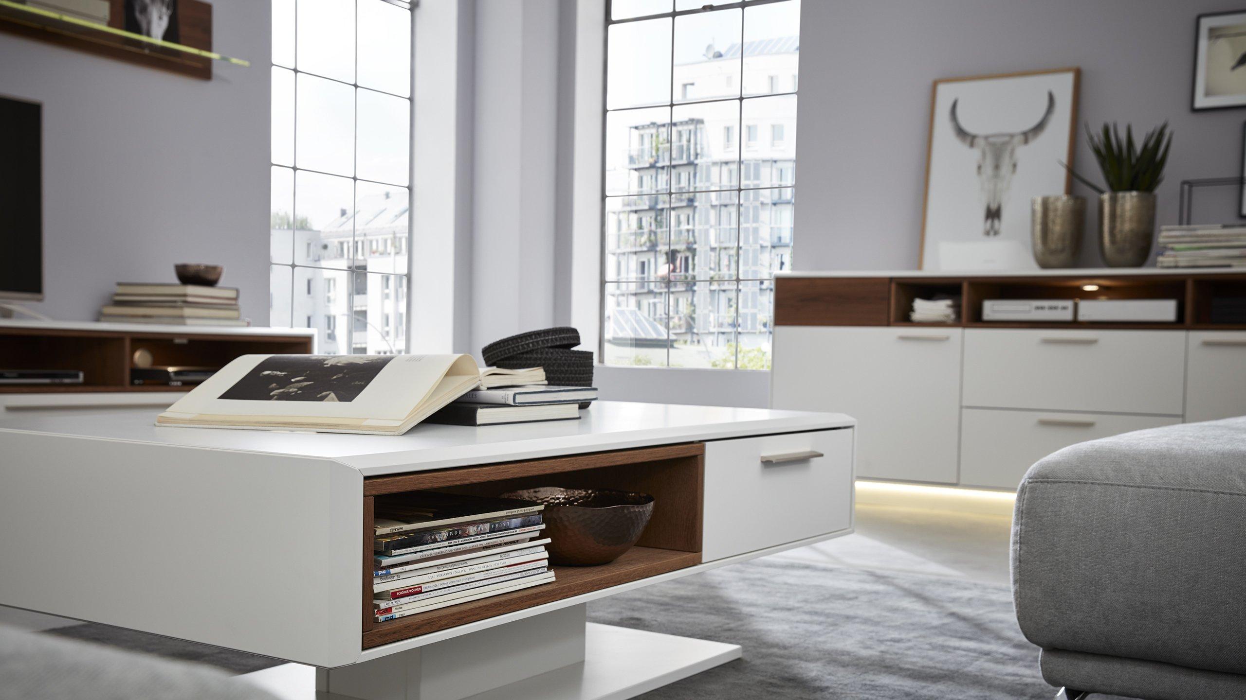 Moderne Wohnzimmermöbel - vom Sideboard bis Esstische