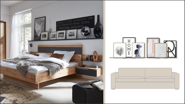 r ume gestalten mit bildern so wirken sie am besten. Black Bedroom Furniture Sets. Home Design Ideas