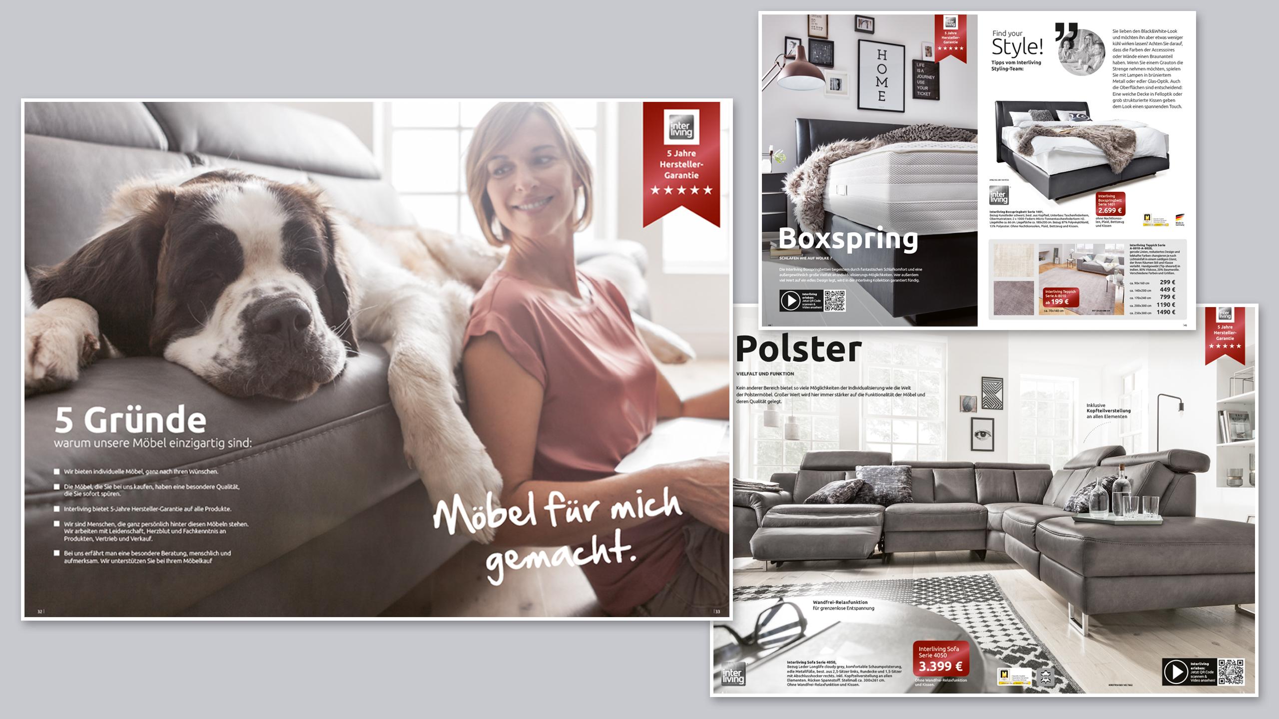 Interliving Katalog -5-Gruende-Moebel-fuer-mich-gemacht