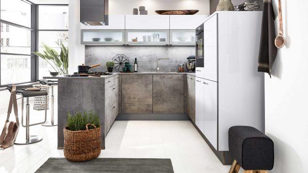 Indirekte Beleuchtung in Küchen