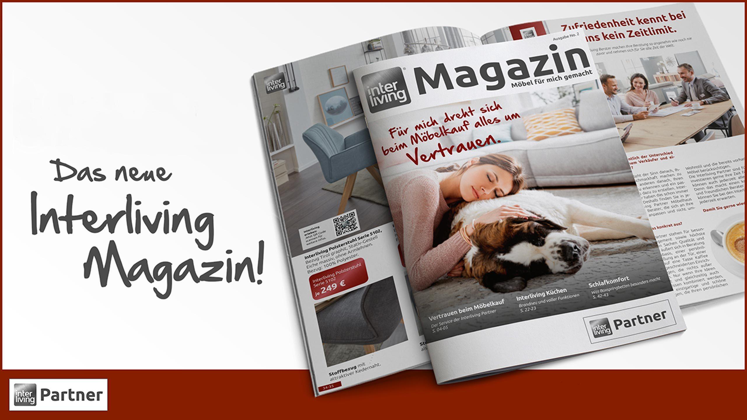 Interliving Partner Magazin Nr. 2 jetzt verfügbar!