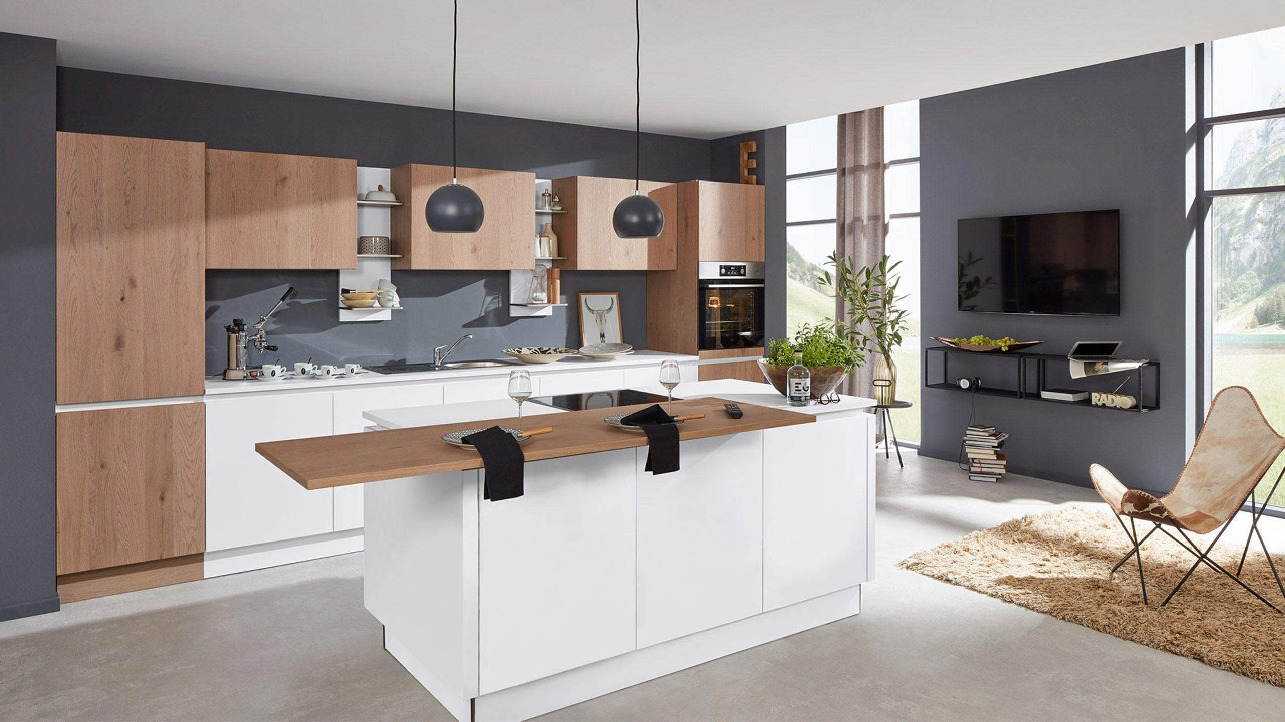 Interliving Küche Serie 3013 Arbeitsplatte richtig reinigen