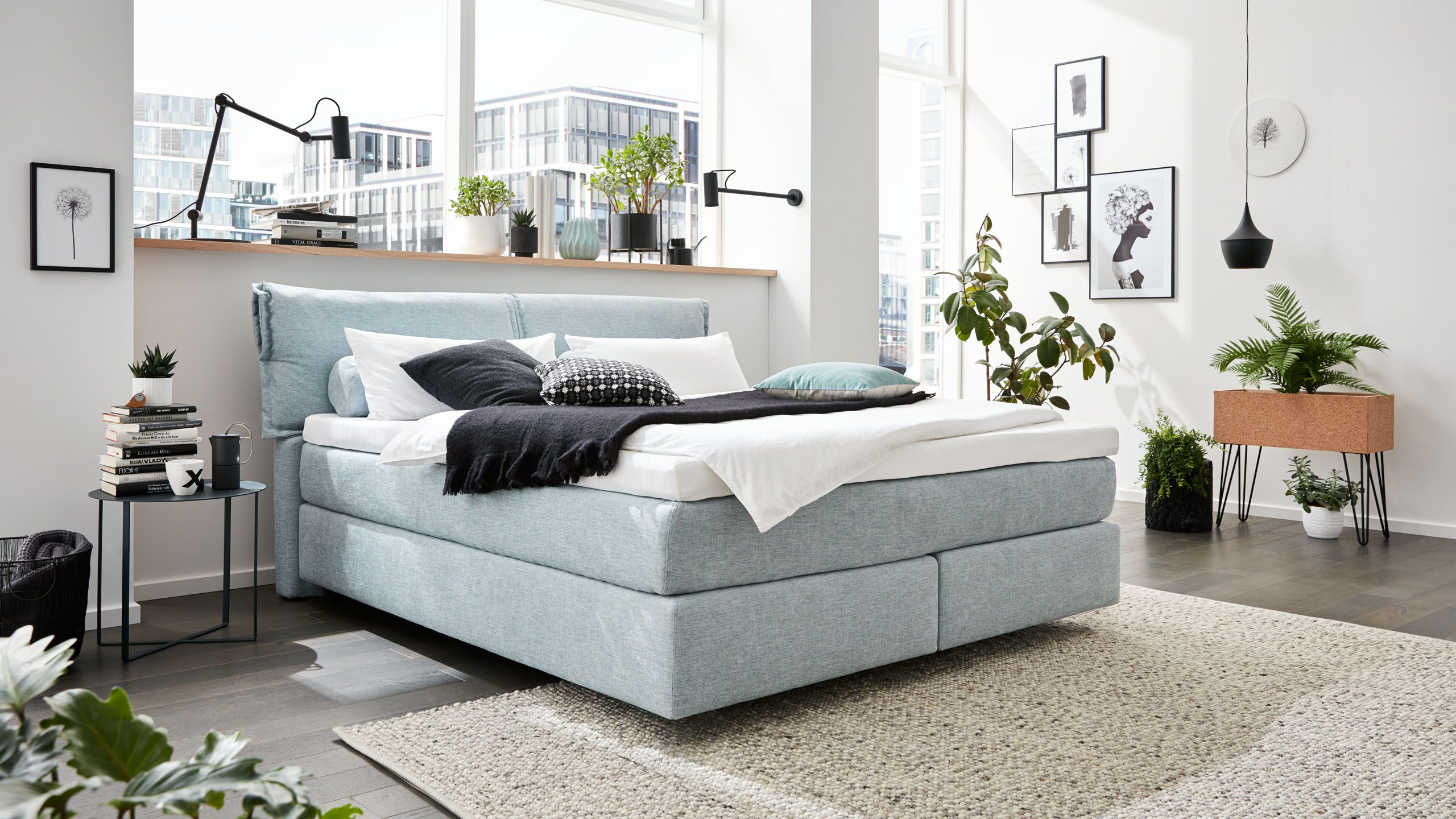 Interliving Boxspring Bett Serie 1410