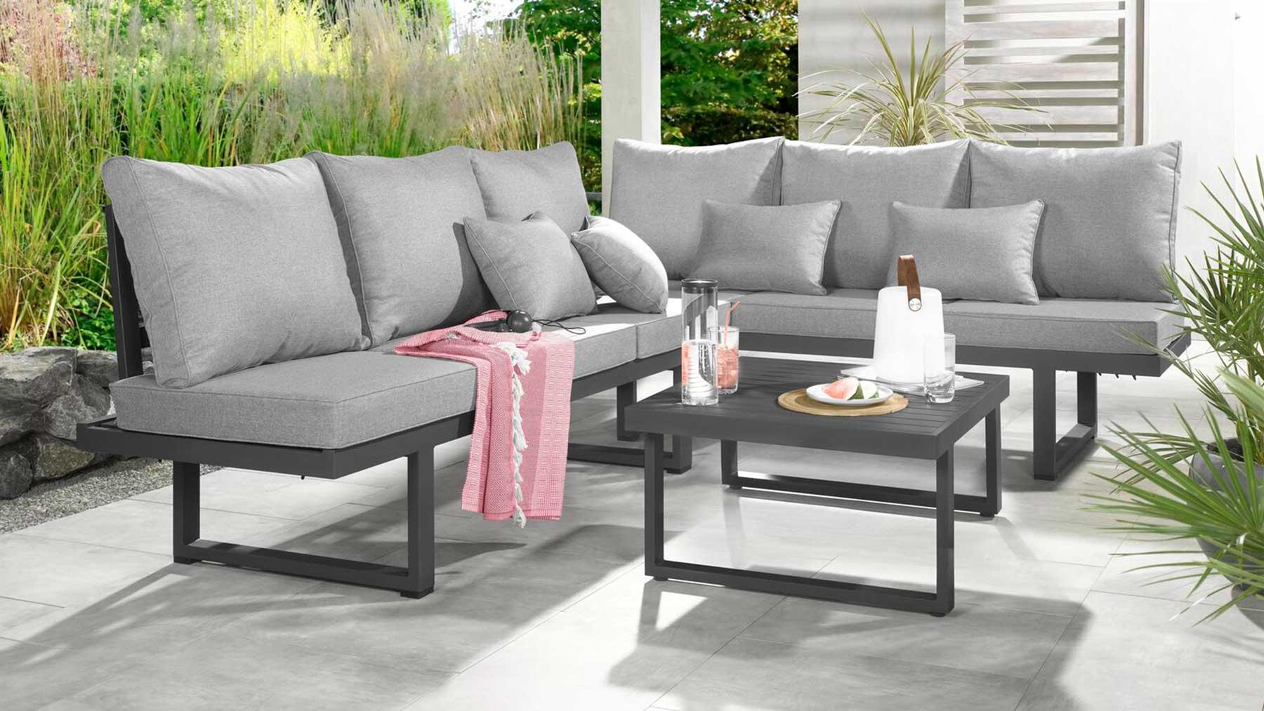 Outdoor Lounge auf der Terrasse