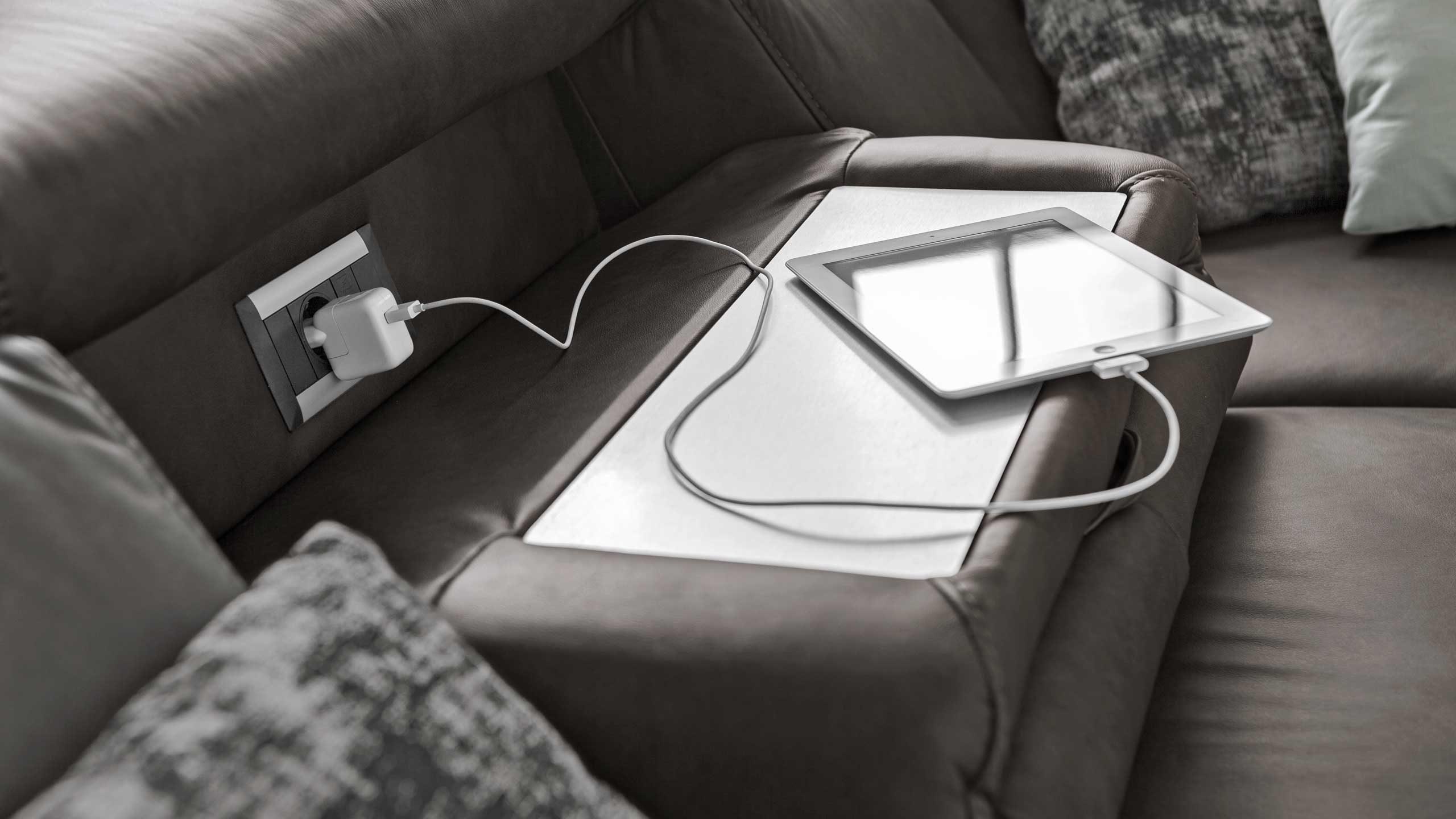 Smarte Funktionen im Sofa