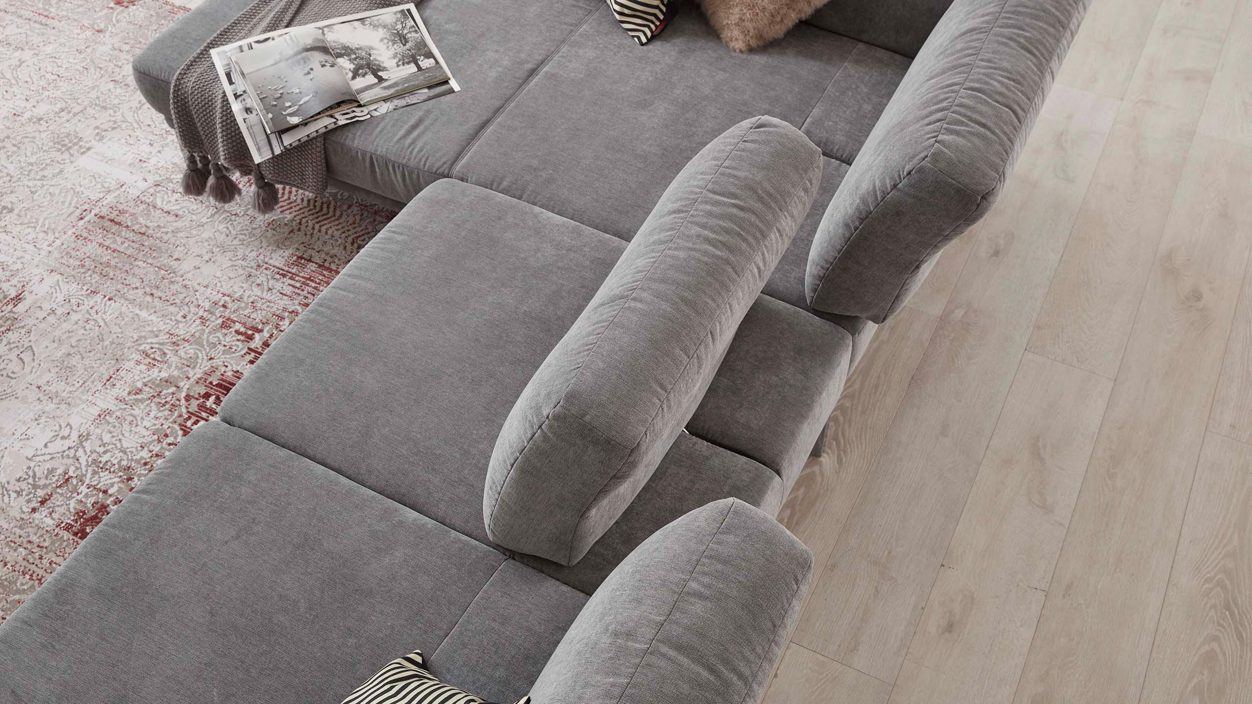 Interliving Sofa Serie 4102 mit verstellbaren Rückenlehnen