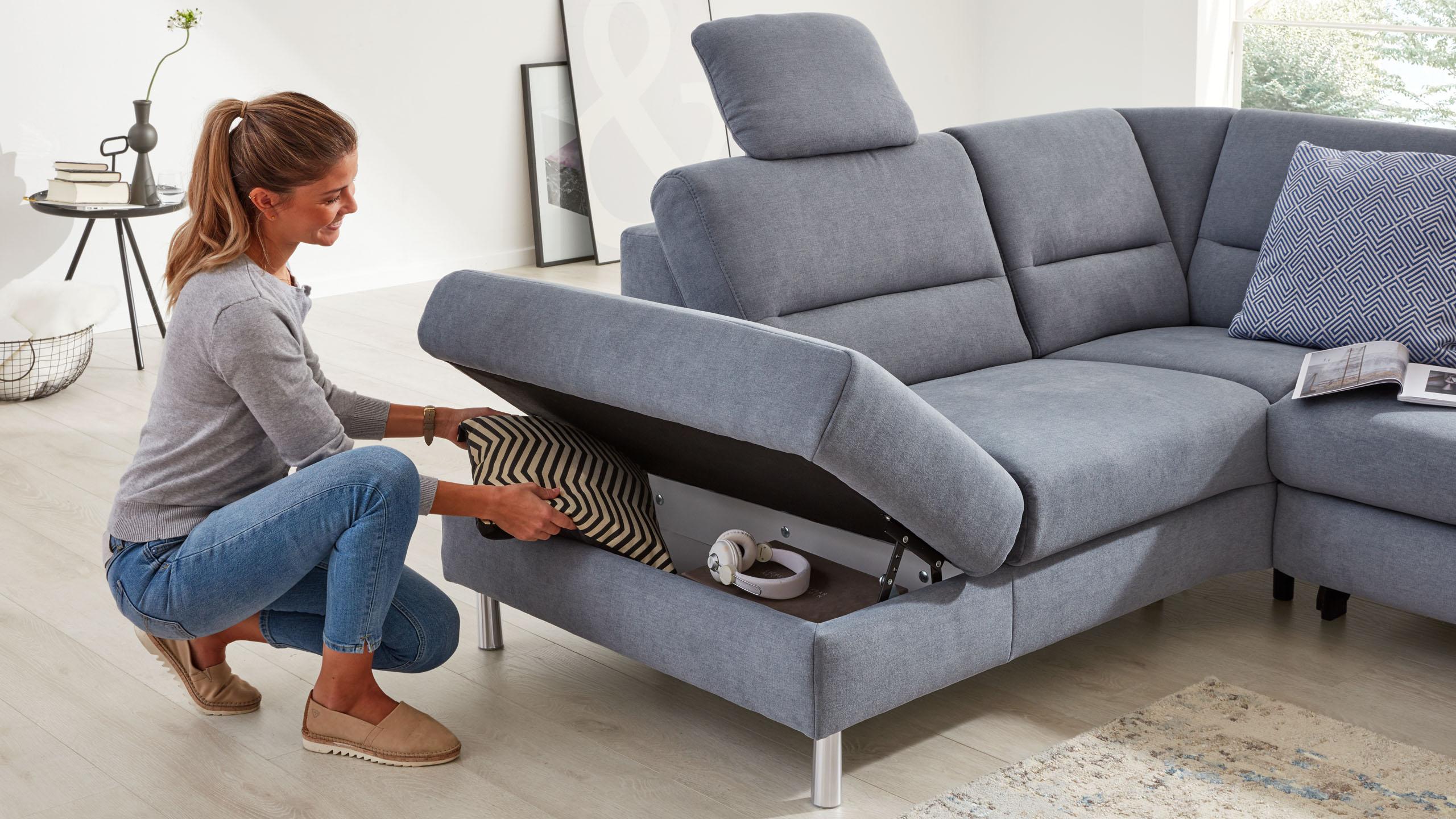 Interliving Sofa Serie 4305 mit Stauraumfunktion