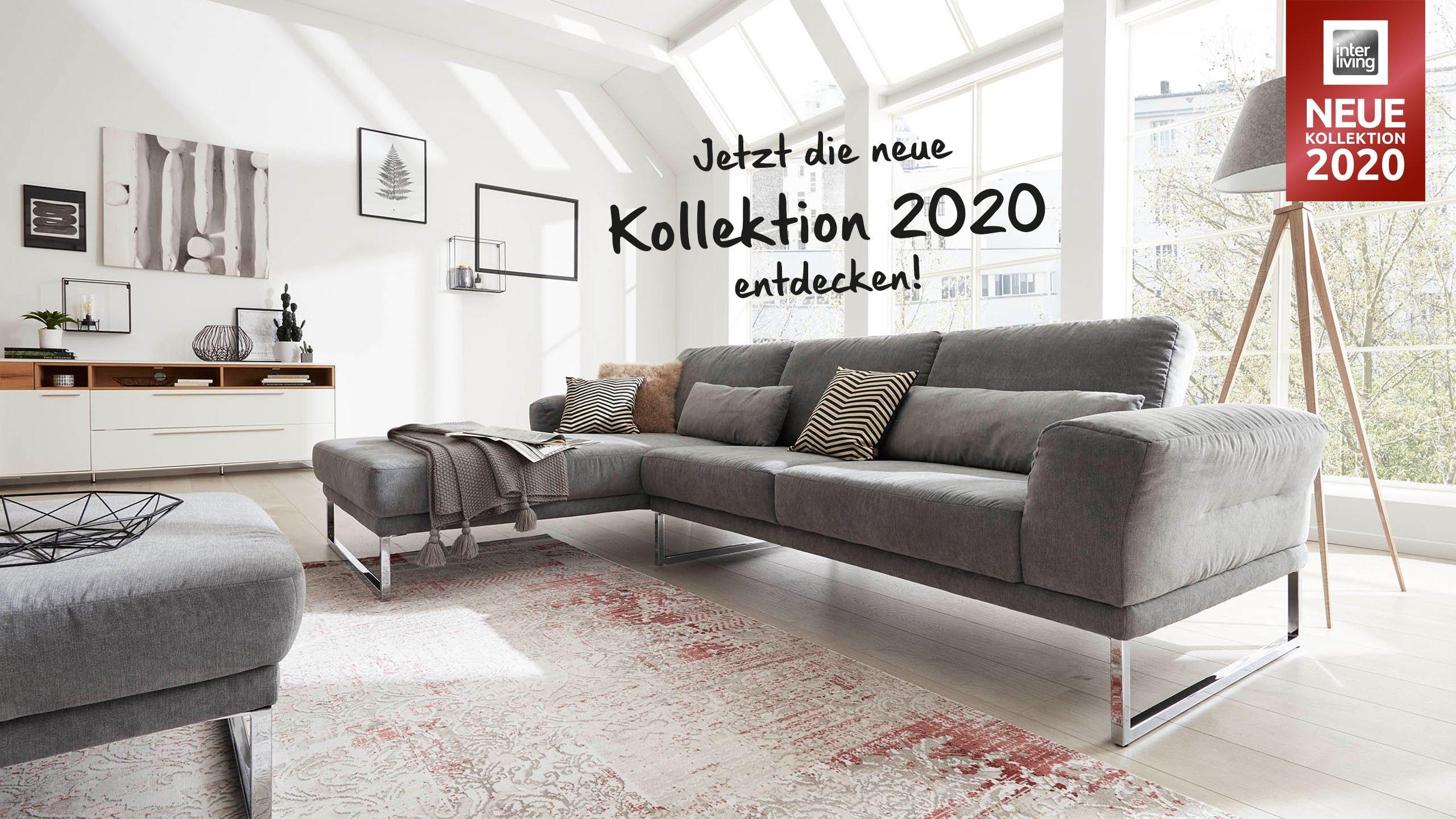 Sofas und Sessel von Interliving – Die Polsterkollektion 2020