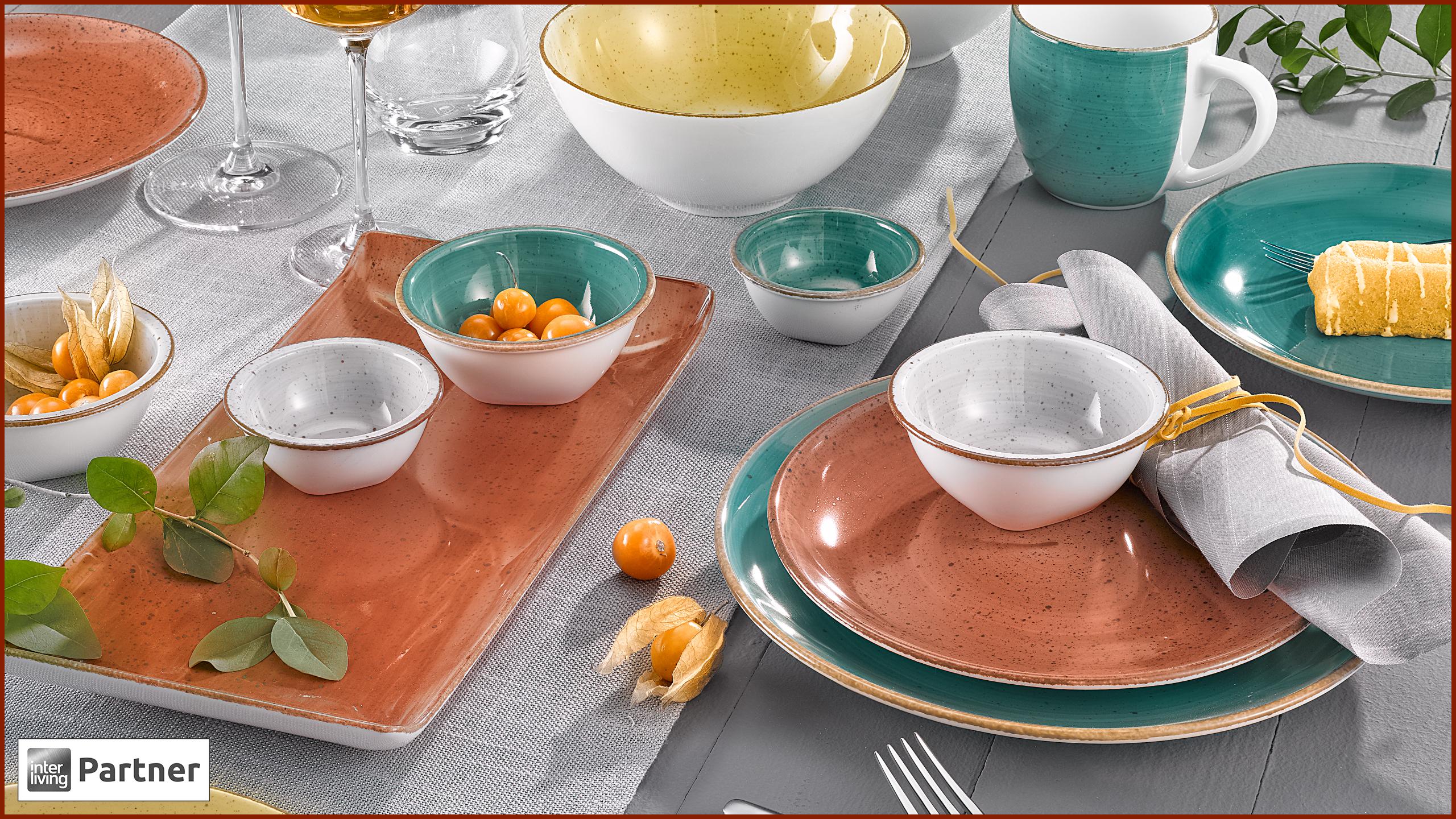 Tischdeko Gewürzfarben