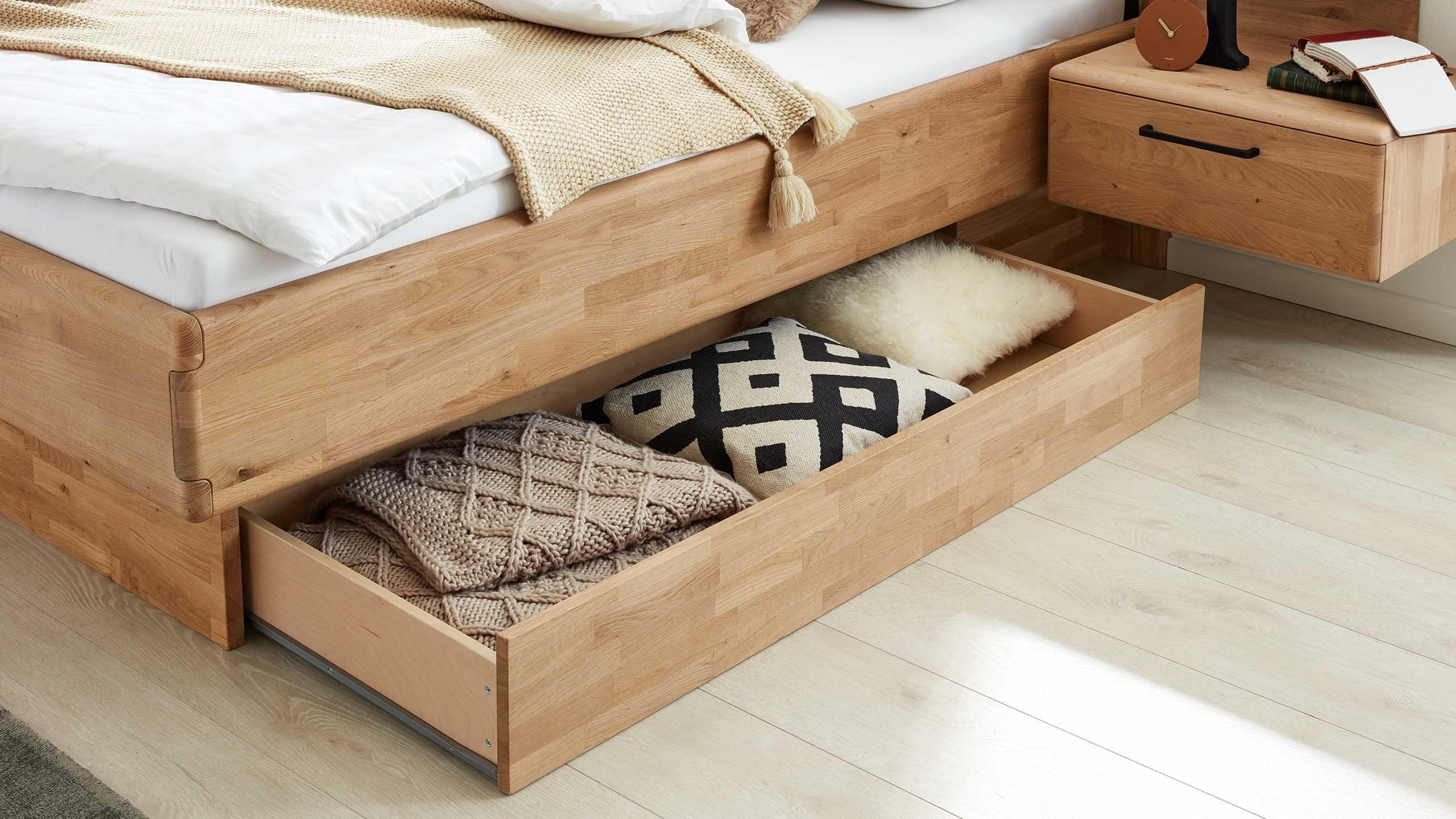 Bettschubkasten bei Interliving Schlafzimmern