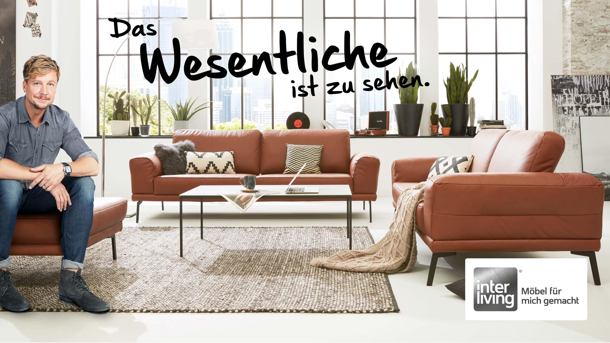 Samu Habers Favorit die Interliving Sofa Serie 4102